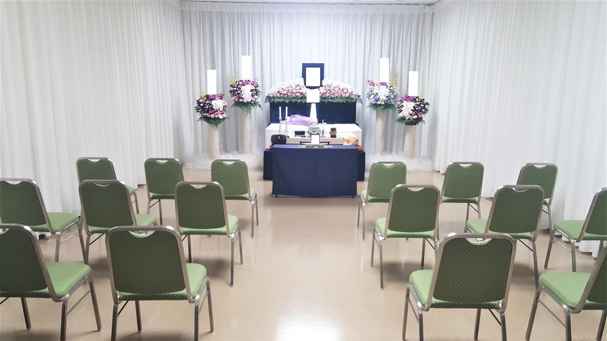 コロナ禍の家族葬(1日葬)-葬儀お花お届け便